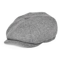 SBOY HATS FEINION CAP FÜR MÄNNER FRAUEN 50% Wolle Tweed Flat Caps Heringbone Cabbies Große Größe Fahrer Hut 068