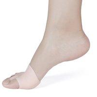 Confortevole Hallux Valgus Straightener Five fori Silicone Orthodontic Toe Bretelle Piede Copertura del piede Cura del piede DHL