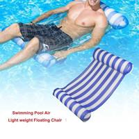 Hängematten Outdoor Wasser Hängematte Zusammenklappbare Pool Aufblasbare Floating Bett Strand Recliner Tragbare Reststuhl Matratze Sports