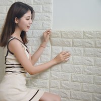 Hot Sale 3D brick pattern wall stickers TV background living...