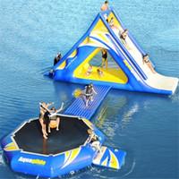La alta calidad de flotador inflable parque de juegos de agua para la venta