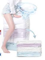 Space saver Vakum Saklama Torbaları Gerekli Küp Yok Küp Ekstra Büyük Çanta Battaniye Yorgan Yastık Yatak Giyim için Premium Güçlü Yeniden Kullanılabilir