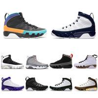 UNC 9 IX 9S SONHO MENS BASQUETEBOL ATLÉTICO Sapatos La Oreo Universidade Blue Breed Space Jam Black Homens Esportes Bneakers 40-47