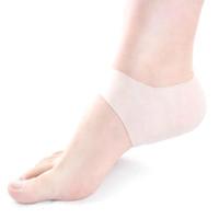 Silicone idratante Gel Heel Socks Cracked Foot Feet Cura della pelle Strumento di protezione per uomini e donne