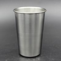 Tasse de bière en métal de tasse en métal de tasse d'acier inoxydable de 16oz incassable sans BPA qui respecte l'environnement pour boire des outils de Drinkware RRA1962