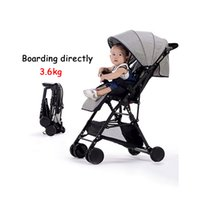 Can boarding directly stroller 3. 6kg ultra- light fold stroll...
