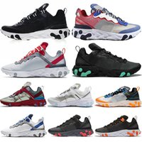 UNDERCOVER X React Element 87 55 Triples Black Fashion Herren 87er Schuhe Damen Designer Schuhe Herren Trainer Sail Light Bone Sneakers 55er 36-45