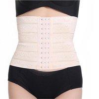 Le donne che dimagriscono lo Shaper del corpo del corsetto della vita Trainer post-partum della vita del corsetto Addome femminile cintura Forma premaman intimo trasporto libero 2020