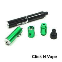 Sigara Boru Tıklayın N Vape Bir Vape Sinsi Gizlice Bir Toke Bitkisel Buharlaştırıcı E-Sigara Su ve Rüzgar Geçirmez Meşale Çakmak Ücretsiz nakliye