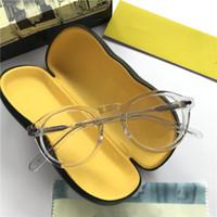 2020 عالية الجودة جوني ديب ستار النظارات البصرية النظارات البصرية 46-23-145 pure-pleank وجه النظارات وصفة طبية صغيرة