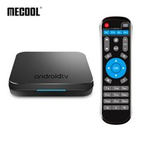 Smartbox originale di Mecool KM9 Android 8.1 TV Box DDR4 4GB 32GB Smart Mini PC 2.4G / 5G Dual Band Wifi Bluetooth Box TVbox