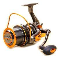 Bobine de pêche à filer sans défaut 14BB CNC CNC Rocker Engine d'eau salée 4.6: 1 Molinete Pesca Roue à distance