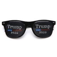 Trump Солнцезащитные очки Дональд Трамп 2020 американский президент Выборы Райс Nail солнцезащитные очки Пластиковые Спортивные очки Party Favor LJJO7930