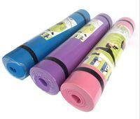 4 мм Ева йога коврики противоскользящее одеяло Ева гимнастический Спорт Здоровье похудеть Фитнес упражнения Pad женщины спорт йога коврик