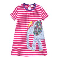 Crtoon Party Dress For Child Ragazze Bambini Bambino Neonate Stereoscopico Cartoon Print Party Brithdays Dress Clothes