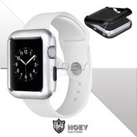 Магнитный адсорбционный чехол для новых Apple Watch Series 5 4 3 2 40 мм 44 мм 38 мм 42 мм ультра тонкий полностью покрытый металлический каркас крышка