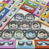 High Quality 3D Faux Mink Eyelashes OEM custom private Logo ...