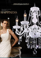 Led Kristal avize ev aydınlatma armatürü cilalar de cristal Modern mutfak Yemek odası Salon avize candelabro