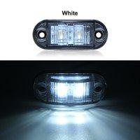 자동차 트럭 트레일러에 대 한 자동차 LED 측면 마커 브레이크 신호 램프 12 / 24V 방수 턴 라이트 화이트 옐로우 레드