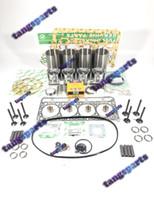 V2203-IDI V2203 iniezione indiretta motore Ricostruire kit con valvole per parti di motore KUBOTA Parts Motore carrello elevatore a escavatori