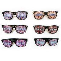 Дональд Трамп Солнцезащитные очки 2020 Американский президент Выборы очки Trump Райс Nail солнцезащитные очки Пластиковые Спорт Summer Sun Glasses 10 цветов подарка