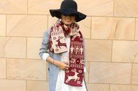 Holiday Gift Chrismas Scarf Winter Fashion Woman Warm Beauti...