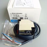 Omron E3JK-DS30M2 AC / DC 5 سلك منتشر انعكاس كهروضوئية التبديل الاستشعار