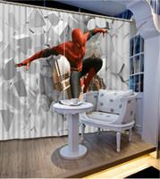 Vorhänge des Küchenfensters 3d fertigen Vorhang für Luxusvorhänge des europäischen Charakters des Wohnzimmers besonders an