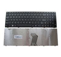 YENI ABD İngilizce Laptop Klavye yerine Lenovo T4G8-RU G580 Z580A G585 Z585 G590 Z580 Siyah