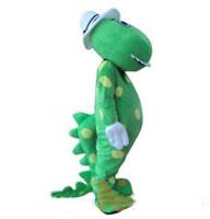 Fabrikverkauf 2019 heißes Dorothy das Dinosaurier-Maskottchen-Kostümausdrücke Kopfmaterial Freies Verschiffen