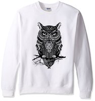 2019 Spring Winter Hoodies Sweatshirt Cartoon Animal Owl Pri...