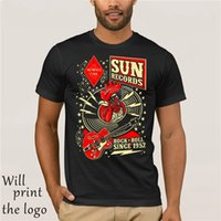 Maglietta Rockabilly Hop T-Shirt da uomo Sun Records Steady Rockabilly Cool T-Shirt Divertente T-Shirt Maglietta personalizzata Any Size Logoe