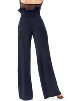 Стадия носить 2021 сексуальные латинские танцевальные брюки Черный квадрат танцы бальные брюки CHA платье женщин современные танцульки