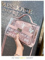 Transparent Fashion Women Party Bags Hand Bag Composite Bag ...