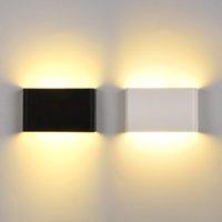 Applique murale ultra-mince EXTÉRIEUR LED LUMIÈRE ÉTAPILE IP65 6W 10W COB AC85-265V LED Éclairage HOME MODERN MODERN MODERN INTÉRIEUR Décoration - I176