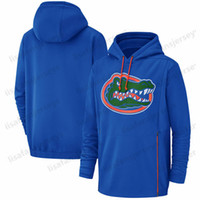 Herren Florida Gators Sweatshirts Champ Drive Begrüßung der Nebentätigkeit Therma Performance NCAA Bedruckte Royal Pullover Hoodies