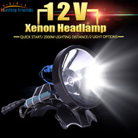 Superbright 12V Headlamp 100W Xenon Headlight External DC Po...