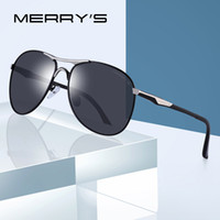 MERRY' S Aluminum Polarized Sunglasses Men Classic Brand...