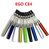 Starter kit E4 CE4 Atomizzatore CE4 Kit sigaretta elettronica e cig 650mah 900mah 1100mah Custodia per blister batteria EGO-T Clearomizer E-cigarette