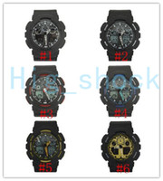 5pcs lot new style brand men' s wristwatch Sport dual di...