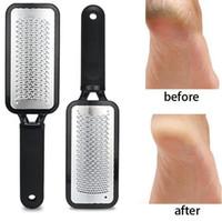 Grandes Ferramentas Pé Rasp Callous Remover Pedicure Durable aço inoxidável rígido Pele Remoção Pé Moagem ferramenta Pé Arquivo Skin Care F0066