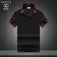 2019 Fashion new Luxury Mens Designer Polo T shirts Summer S...