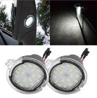 2 قطعة LED الجانبية تحت مرآة الرؤية الخلفية البركة الخفيفة، LED تحت الخلفية مرآة ضوء