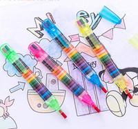 Kinder Malen Spielzeug 20 Farben Wachsmalstift Baby Lustige Kreative Pädagogische Öl Pastelle Kinder Graffiti Stift Kunst Geschenk
