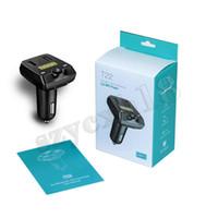 T22 Auto Bluetooth Auto MP3 Player Neue FM Transmitter Unterstützung Bluetooth Musik TF Karte U Plattenspieler USB Zhitong Ladegerät Mit Kleinkasten
