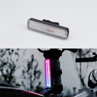 Bicycle Tail Light USB Charging Bike Riding Taillight Warnin...