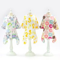 Dog Clothes Summer Print Chihuahua Clothes Outfit Pet T- Shir...