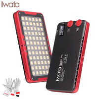 Iwata Pro 144 Pcs Bi- Color Dimmable On- Camera Led Video Ligh...