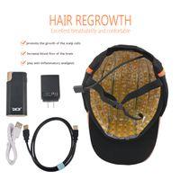 إزالة الشعر المضاد للشعر الليزر جرووت كاب LED 276 الثنائيات LAZER REDROWTH HELMET