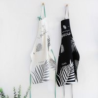 Woman Adult Oil Stain Resistant Apron Nordic Style Apron Hom...